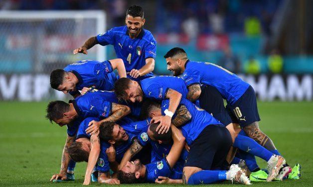 Евро-2020. Италия - Швейцария 3:0. Продолжение банкета