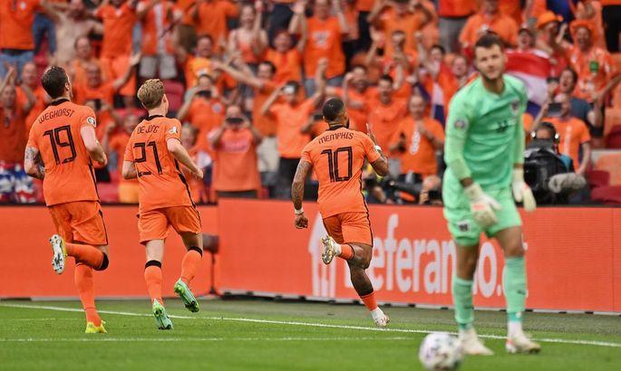 Нидерланды - Австрия 2:0. Без особого сопротивления