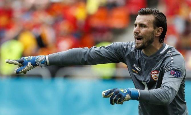 Вратарь Северной Македонии: Во втором тайме с Украиной показали лучшую игру на Евро-2020