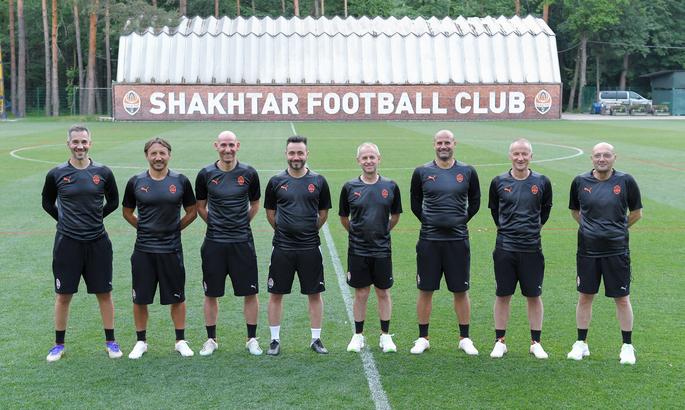 Шахтер представил новый тренерский штаб