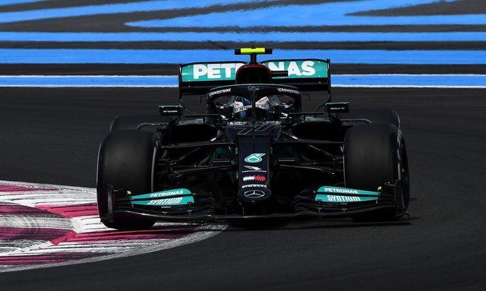 Боттас выиграл первую свободную практику на Гран-при Франции