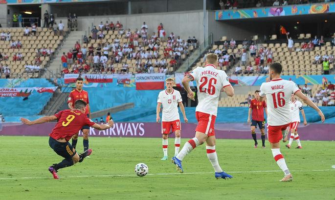 Испания - Польша 1:1. Подделка под Красную Фурию