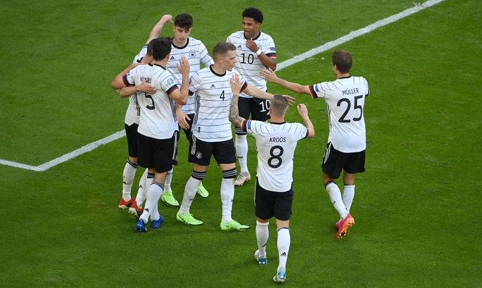 Немецкая комбинация: Мюллер, Госенс и завершение Хавертца. Лучший гол девятого дня Евро-2020