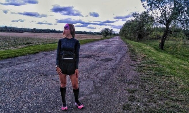Рекордсменка Украины по непрерывному бегу разбилась в ДТП