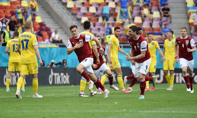 Украина – Австрия 0:1. Видео гола и обзор матча