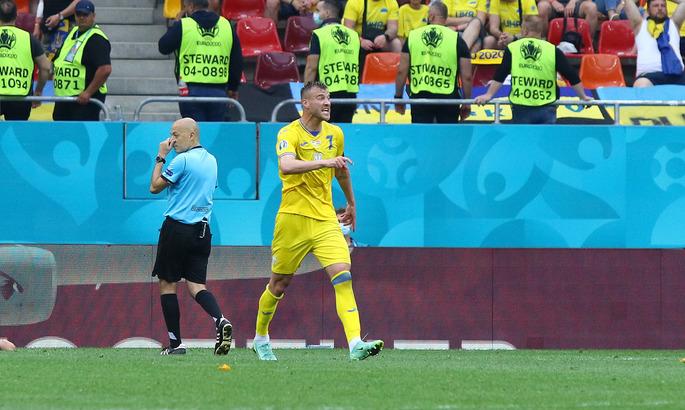 1-0. Украина открывает счёт в противостоянии с Боснией и Герцеговиной