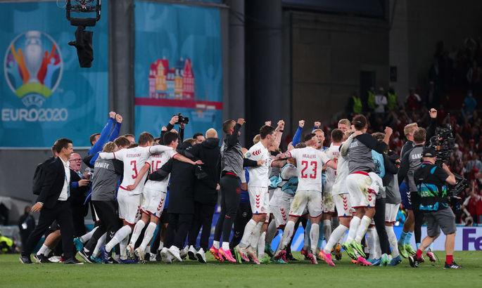 Дания, Англия, Чехия, Швеция и Франция вышли в плей-офф Евро