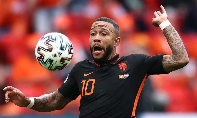 Новичок Барселоны и ведущий игрок сборной Нидерландов не забивал этим летом только Бущану