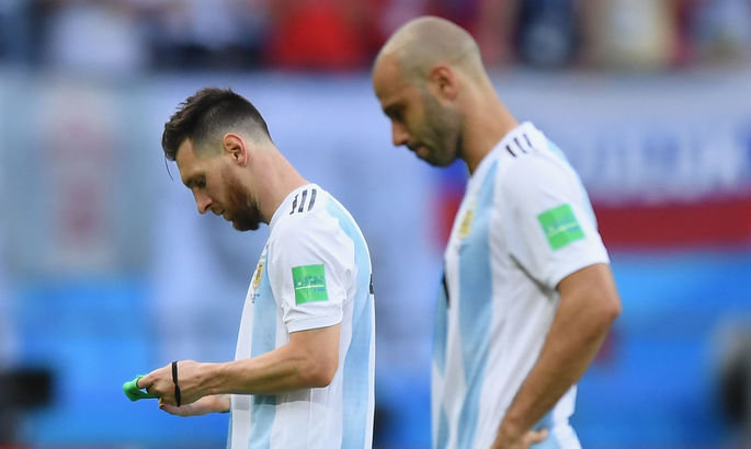 Лионель Месси повторил рекорд Маскерано по количеству матчей за сборную Аргентины