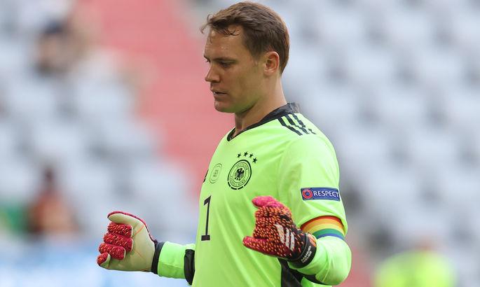 Нойер не сыграет в матче с Румынией