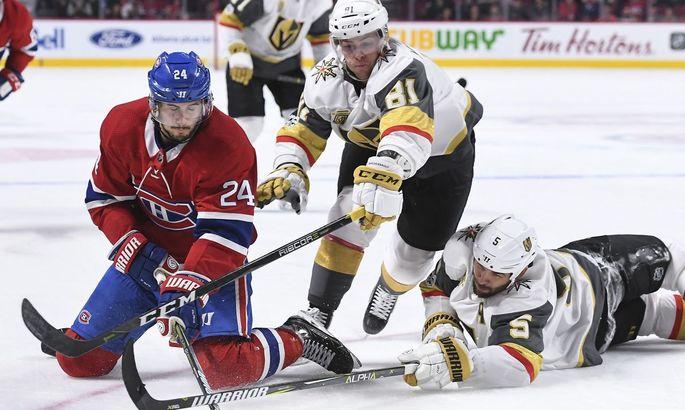 НХЛ: Монреаль вышел вперед в полуфинальной серии с Вегасом