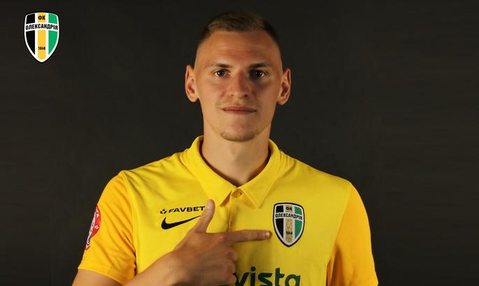 Александрия продлила контракт с еще одним футболистом