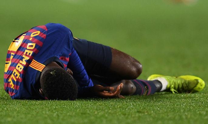 ФИФА выплатит Барселоне почти 3 миллиона евро за травму Дембеле
