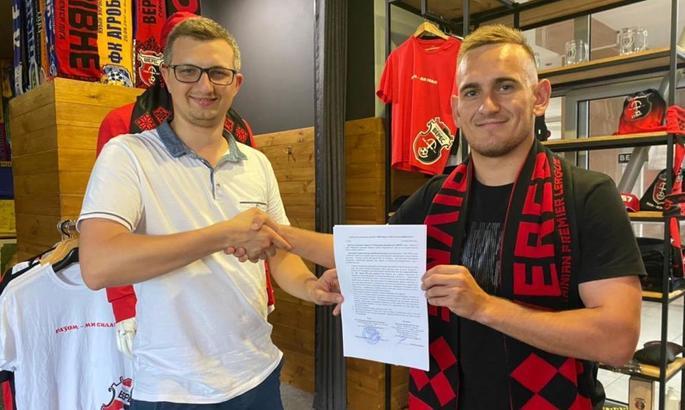 Поиграет в УПЛ. Верес подписал новый контракт с 22-летним полузащитником