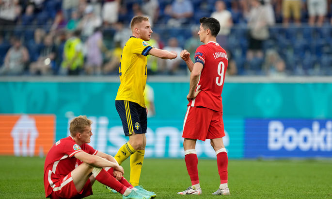 Напрасные старания Левандовского. Швеция - Польша 3:2. Обзор матча и видео голов