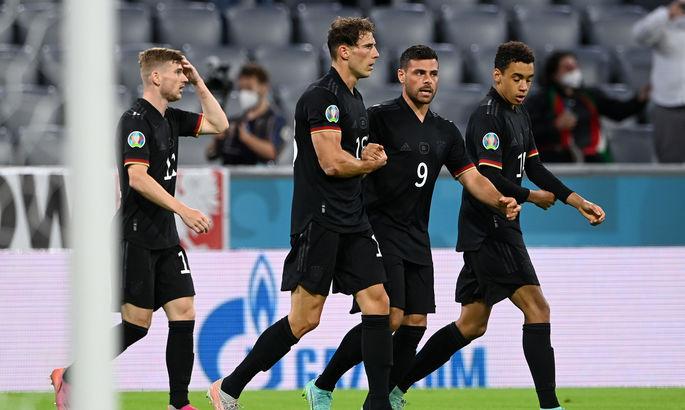 Германия – Венгрия 2:2. Отделались лёгким испугом