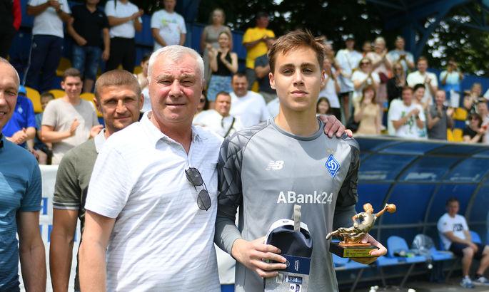 Динамо - чемпион Украины  в категории U-15. Сын Суркиса признан лучшим вратарем турнира