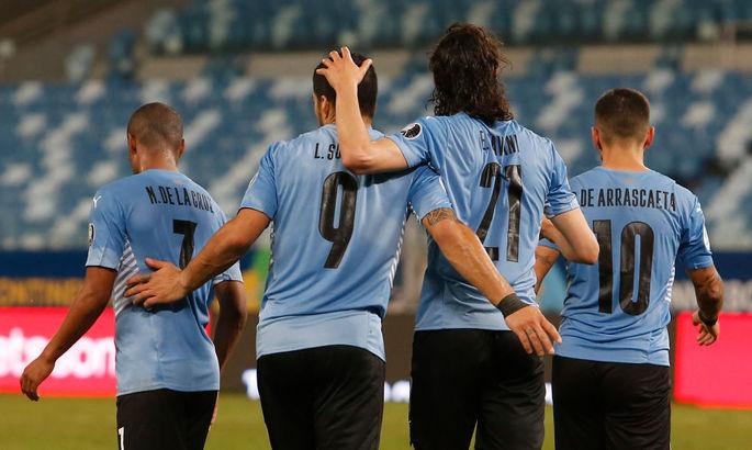 Копа Америка. Уругвай начинает подъем, Чили проиграл