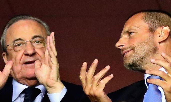 Президент Реала: Мы потеряли 8 миллиардов, а Чеферин повышает себе зарплату. Футбол умирает