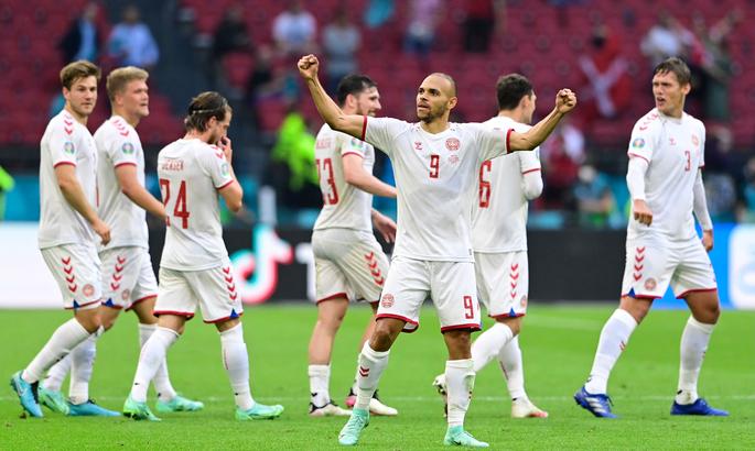Дания впервые с 1998 года победила в плей-офф ЧМ или Евро
