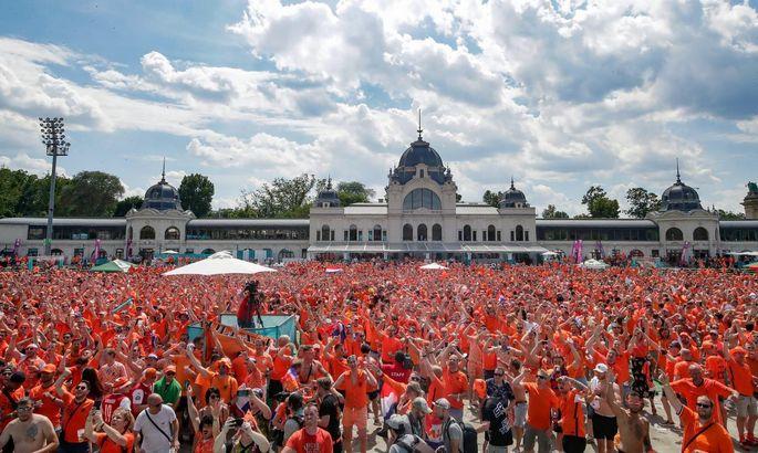 УЕФА отрицает свой же запрет ЛГБТ-флагов в фан-зонах Будапешта