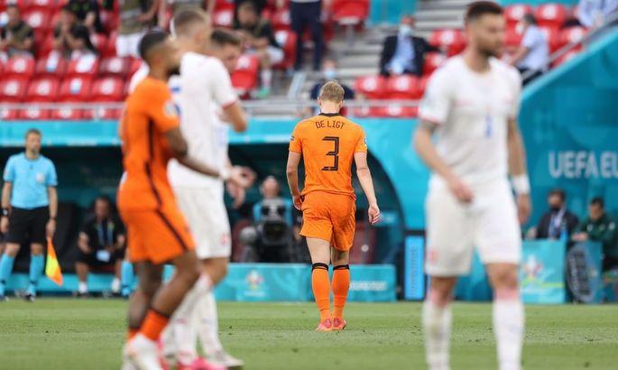 Нидерланды - Чехия 0:2. Сломленные тюльпаны