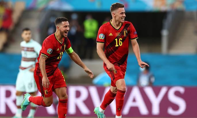 Бельгія зіграє проти Італії в 1/4 Євро-2020