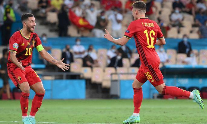 Бельгия - Португалия 1:0. Чемпион повержен