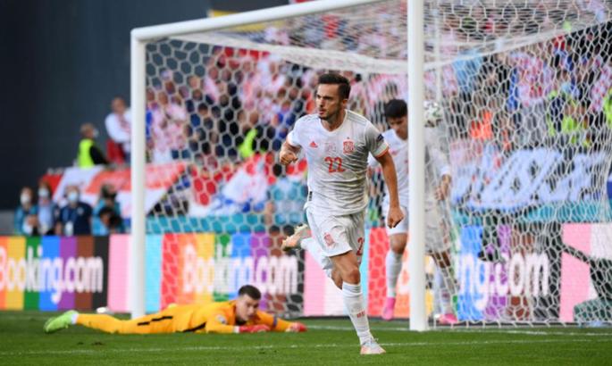 Как Испания сравняла счет в игре с Хорватией - на добивании играет Сарабия