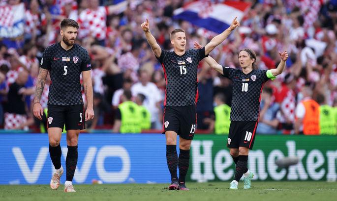 Гол одноклубника Малиновского: Хорватия вырывает овертайм в 1/8 Евро-2020