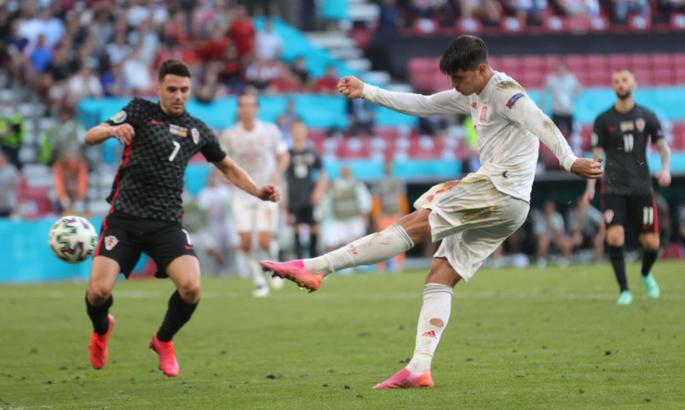 Альваро Мората шокирует Хорватию голом в овертайме 1/8 Евро-2020