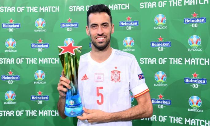 Лучший игрок матча 1/8 Евро-2020 Испания - Хорватия поддержал голкипера Унаи Симона