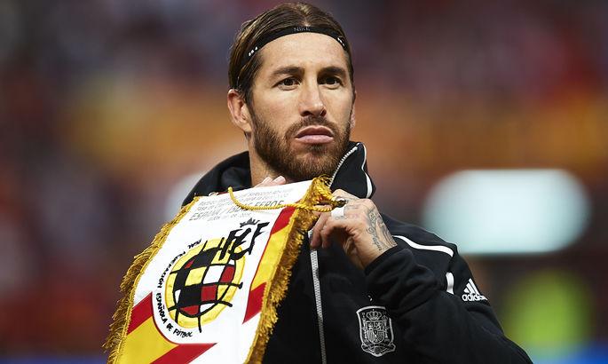 Без Серхио Рамоса. Известна заявка сборной Испании на Олимпиаду