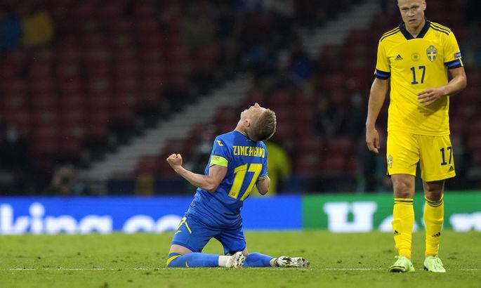 Зінченко обійшов Леоненка за кількістю голів за збірну України