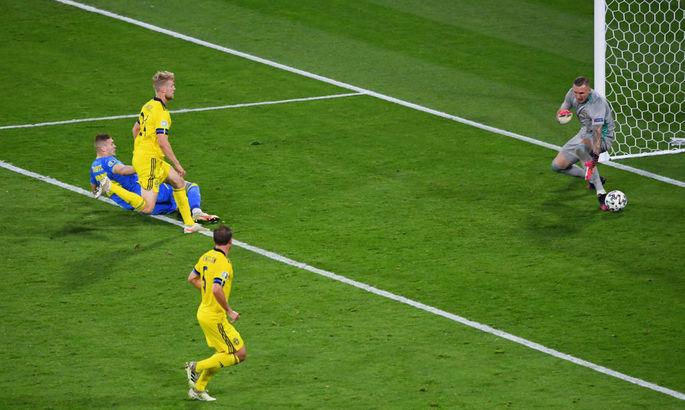 Довбик — единственный представитель УПЛ, который забил на Евро-2020, у игроков Серии А - 37 голов