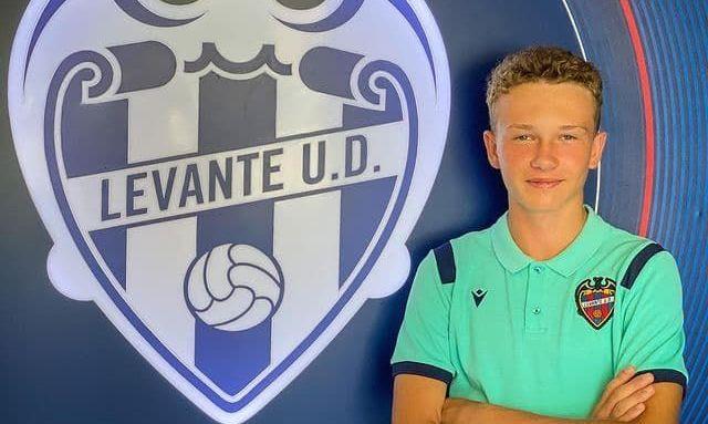 Леванте подписал в академию 14-летнего украинца