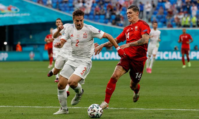 Швейцария - Испания 1:1 (по пен. 1:3). Красная Фурия в полуфинале Евро!