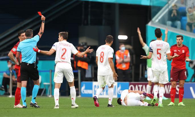 Сергей Шебек об удалении в составе Швейцарии: Это ошибочное решение, которое не идет на пользу футболу