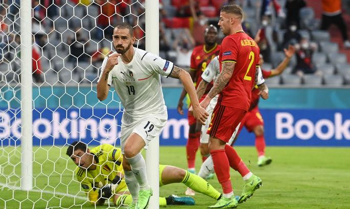 Италия - Бельгия. Анонс и прогноз матча за бронзу Лиги Наций на 10.10.2021
