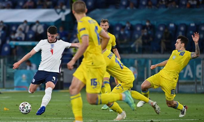 Англия впервые с 1996 года вышла в полуфинал ЧЕ
