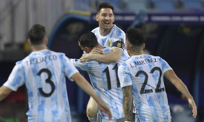 Копа Америка: Аргентина выходит в полуфинал под феерию Месси, Уругвай вылетает