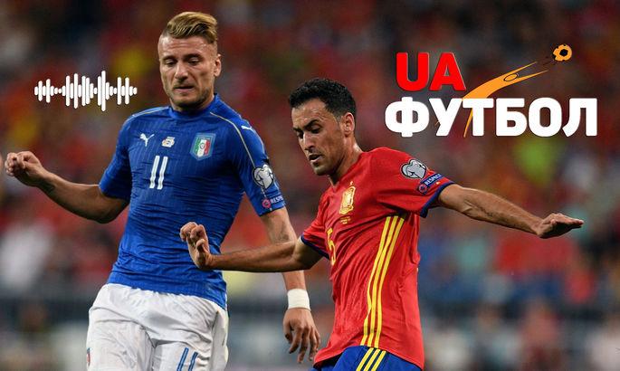 Италия – Испания. АУДИО онлайн трансляция первого полуфинала ЕВРО