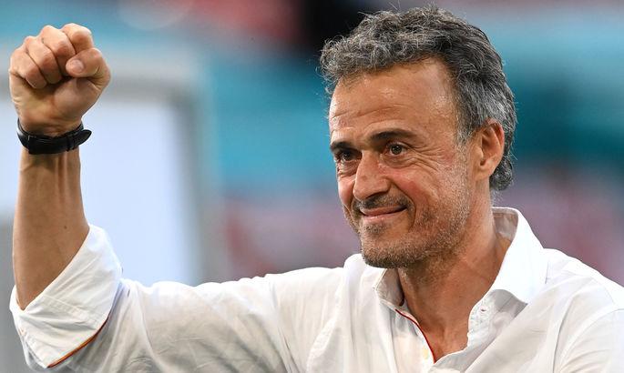 Луис Энрике - перед финалом Лиги Наций: Мы собираемся защищаться при помощи владения мячом и забивать