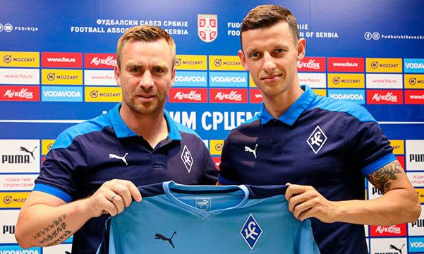 Спортдиректор Крыльев Советов: Рады, что нам удалось получить такого игрока, как Иванисеня