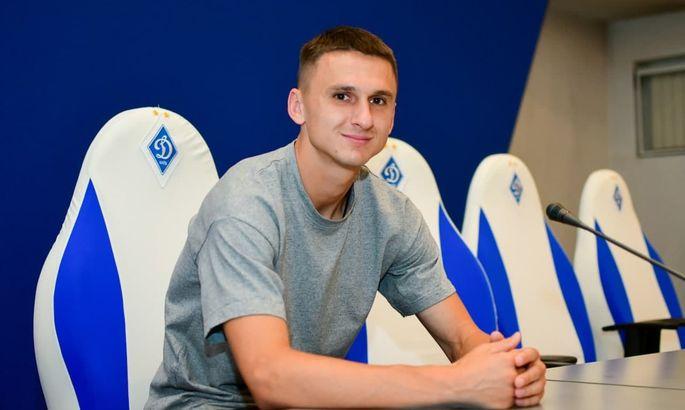 Антюх: Луческу сказал, что это была его личная просьба, что хотел меня видеть в Динамо