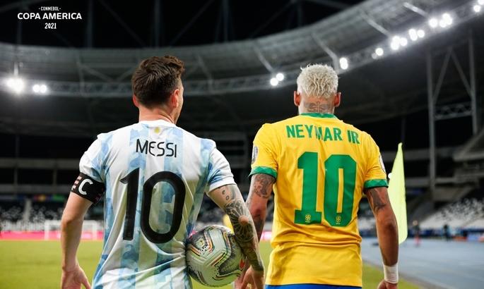 Неймар и Месси - лучшие игроки Копа Америка по версии КОНМЕБОЛ