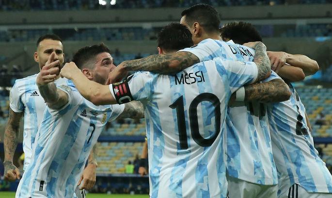 Финал Копа Америка. Аргентина - Бразилия 1:0. Камень с души Лионеля Месси