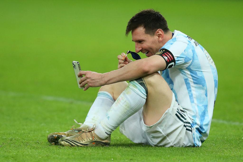Великий триумф Месси и слёзы Неймара. Лучшие фото с финала Копа Америка - изображение 16