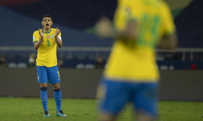 Тиаго Силва: В первом тайме Бразилия не играла в свой футбол