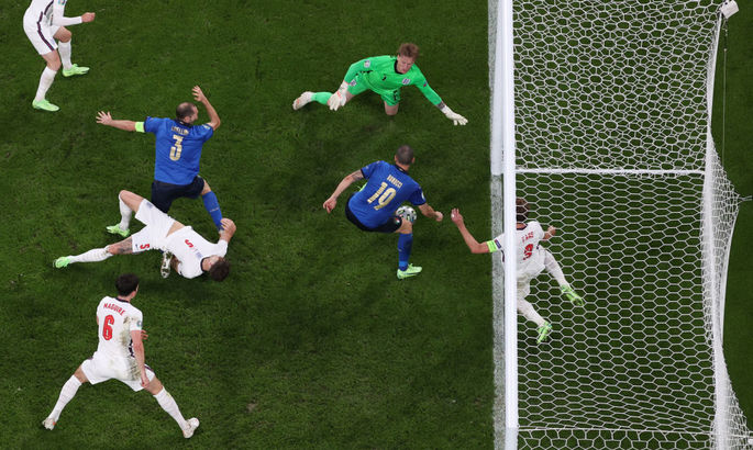 Бонуччи сравнивает счёт в финале Евро-2020. ВИДЕО